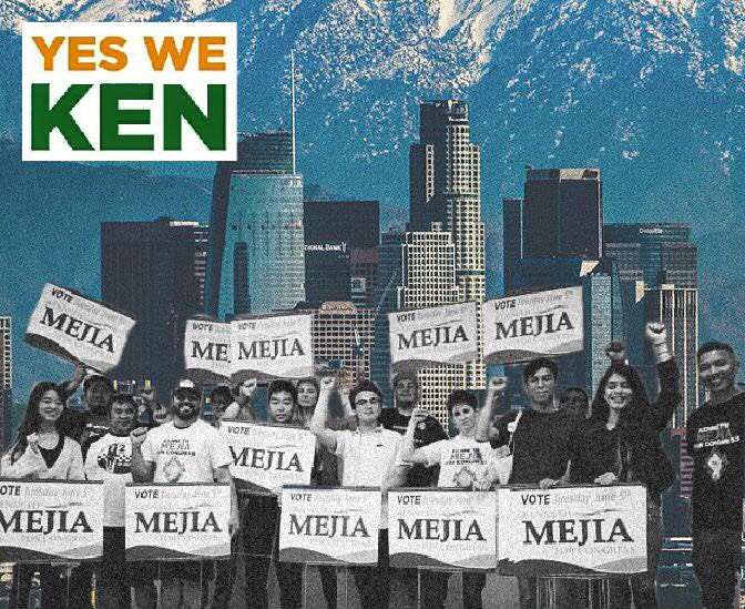 The Green Wave In L A Graphic By Peter Duran The Sprawl